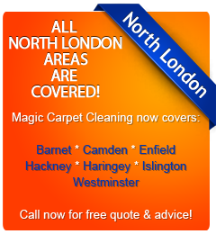 all North London boroughs are covered