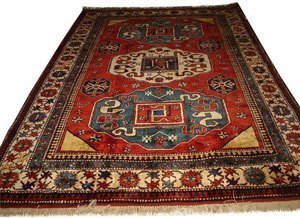 an Azerbaijani carpet