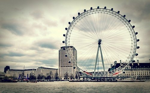 A general view of London Eye