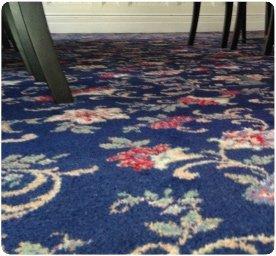 cleaned rugs