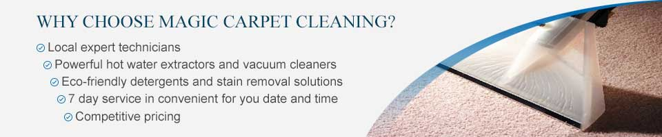 Why Choose Magic Carpet Cleaning