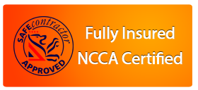 Trained to NCCA and SafeContractor standards